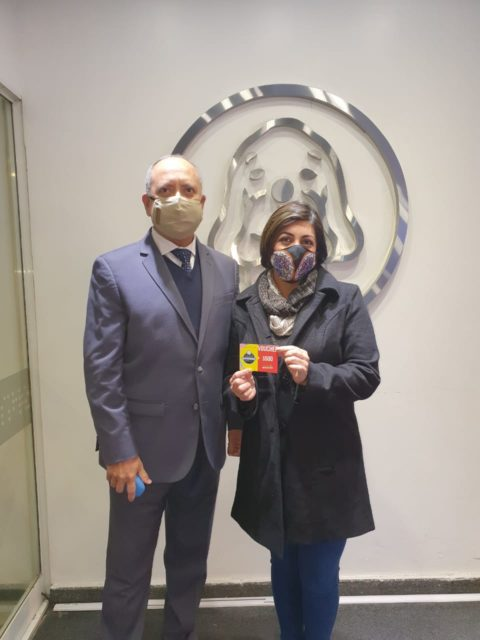 Ganadora Ruleta Voucher $500 de chegusan